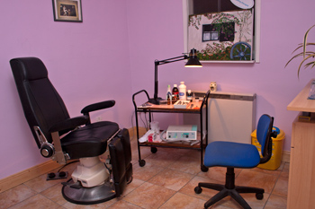 Chiropody Treatment Room
